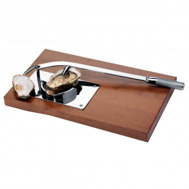 Apriostriche professionale da tavolo base legno