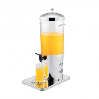 Distributore succhi elettrico inox con sistema di raffreddamento