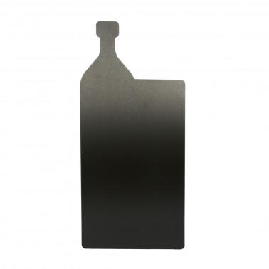 Lavagna da muro bottiglia