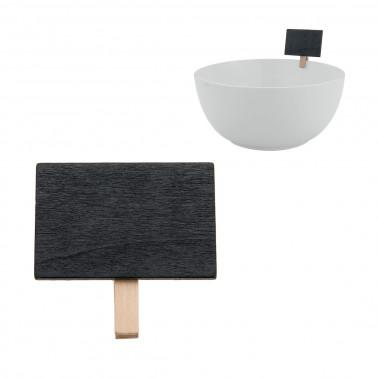 Lavagnetta con molletta Conf. 6 pz
