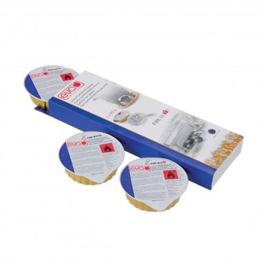 Pasta combustibile per scaldavivande set 3 pz