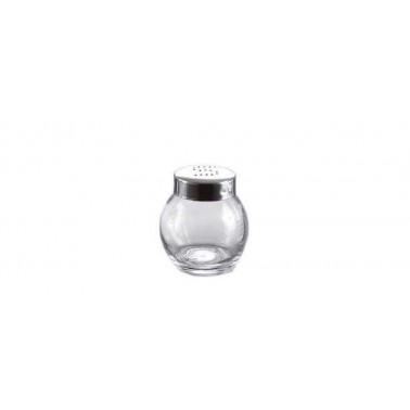 Spargisale vetro con capsula inox