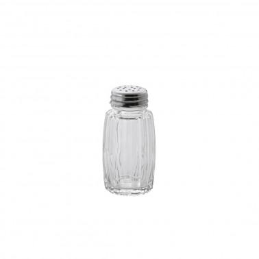 Spargisale vetro con capusla inox
