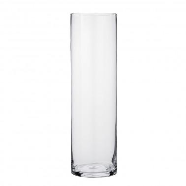 Vaso cilindrico vetro soffiato a bocca