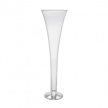 Vaso vetro soffiato a bocca conico