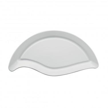 Vassoio porcellana buffet curvo ovale Gural