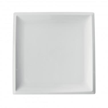 Vassoio porcellana quadrato buffet Gural