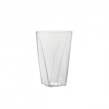 Bicchiere plastica prisma termoaldato