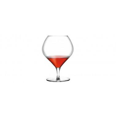 Calice cognac Fantasy Cristallino