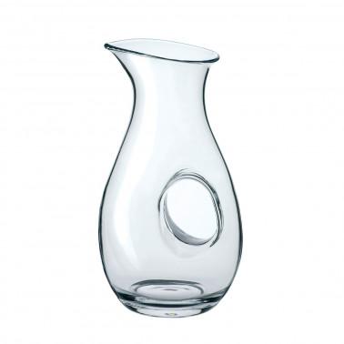 Caraffa in vetro soffiato Aurum