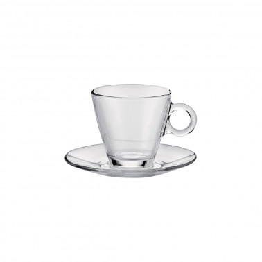Piattino per tazza cappuccino Easy Bar Temperato