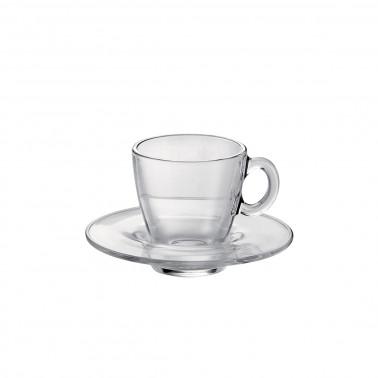 Tazza caffè con piatto Aqua Temperato