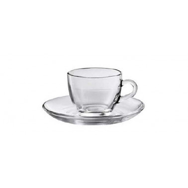 Tazza caffè con piatto Basic