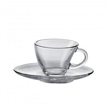 Tazza caffè con piatto Penguen