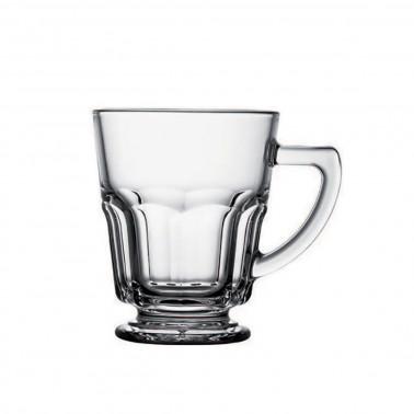 Tazza mug casablanca temperata con manico