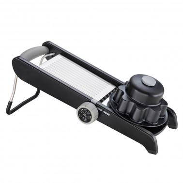 Mandolina professionale 4 tagli con carrello