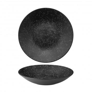 Piatto fondo Menu shades caldera ash black Churchill