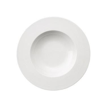 Piatto fondo Saturno bianco Costaverde