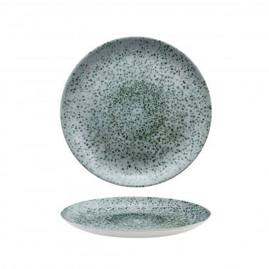 Piatto frutta Studio prints mineral green Churchill