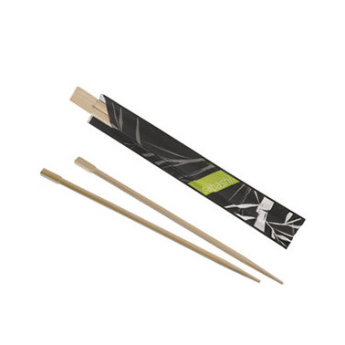 Set 2 bacchette bamboo conf. 100 set