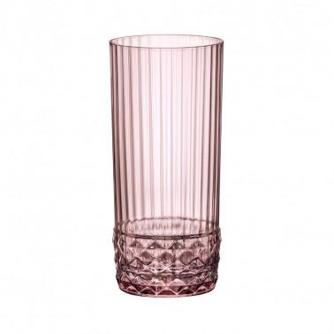 Bicchiere cooler America'20s Liliac Rose