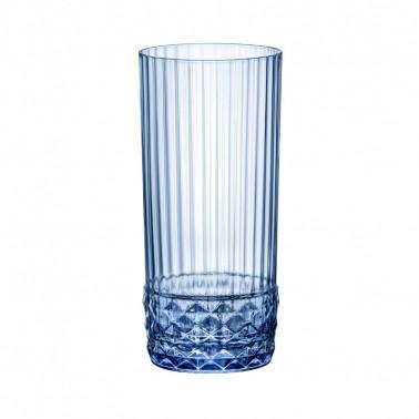 Bicchiere cooler America'20s Sapphire Blue