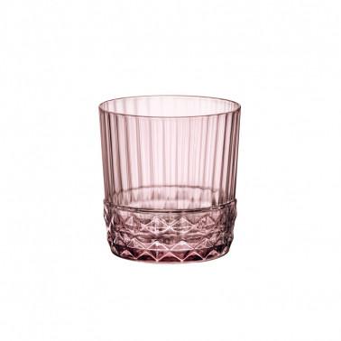 Bicchiere DOF America'20s Liliac Rose