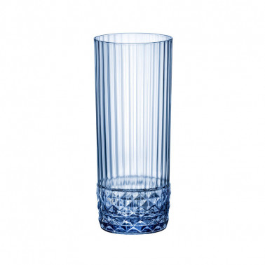 Bicchiere Long Drink America'20s Sapphire Blue