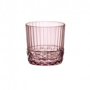 Bicchiere Rocks America'20s Liliac Rosé