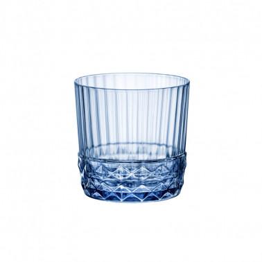 Bicchiere Rocks America'20s Sepphire Blue
