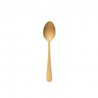 Conf.12 pz Cucchiaino caffè Austin pdf oro satinato