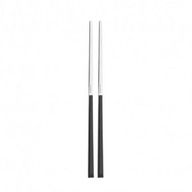 Set 2 bacchette da sushi in acciaio inox 18/10