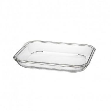 Vassoio handy vetro buffet CM 23X18 H 3