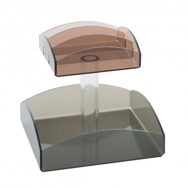 Alzata portabustine plexiglass