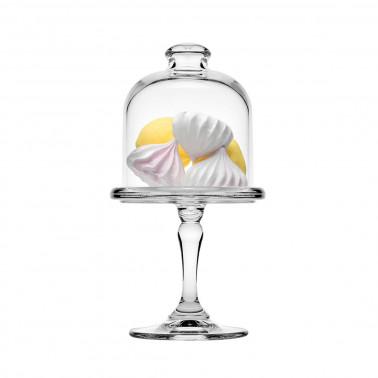 Alzata vetro con coperchio - tipo 3