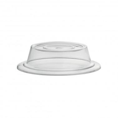 Camapana policarbonato trasparente tonda doppio utilizzo