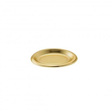 Coppetta plastica oro ovale finger food monodose polistirolo