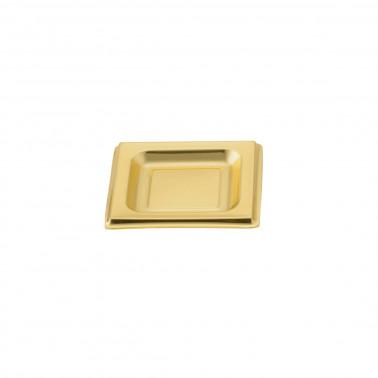 Coppetta plastica oro quadrata finger food monodose polistirolo