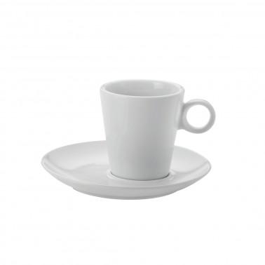 Piattino per tazza Atene Bianco