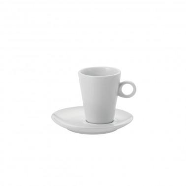 Piattino per tazza caffè Atene Bianco