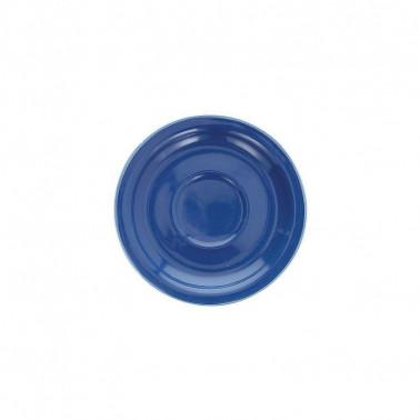 Piattino per tazza caffè Kolors Blu Cobalto