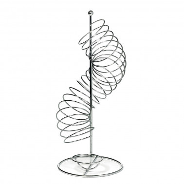 Portafrutta spirale acciaio inox