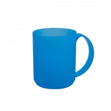 Tazza mug plastica impilabile frosty cl 38