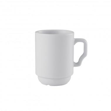 Tazza mug porcellana impilabile cl 25