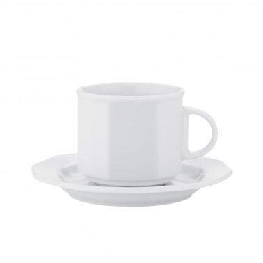 Tazza thè/colazione con piatto mercury cl 20