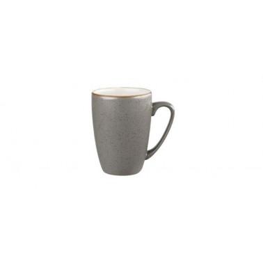 Mug Stonecast grigio puntinato
