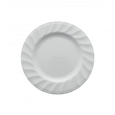 Piattino Melamina bianca