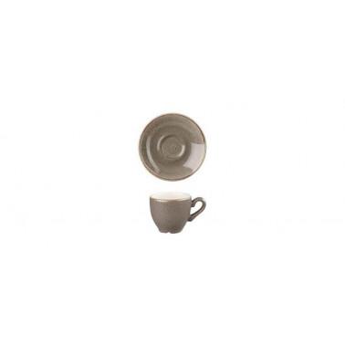 Piattino per tazza caffè Stonecast grigio puntinato