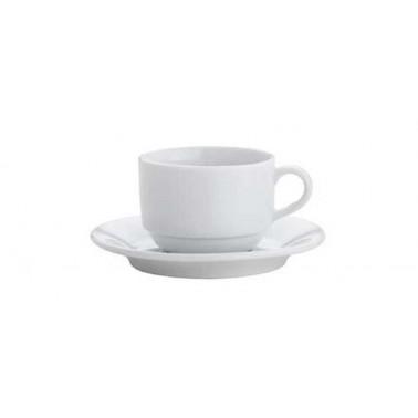 Piattino per tazza the Ambiente bianco