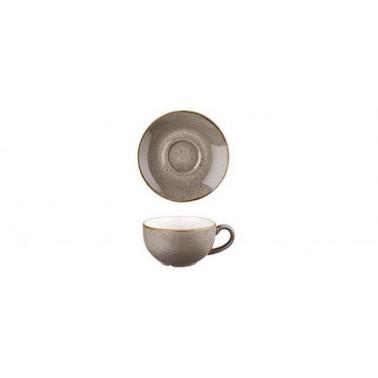 Piattino per tazza the Stonecast grigio puntinato